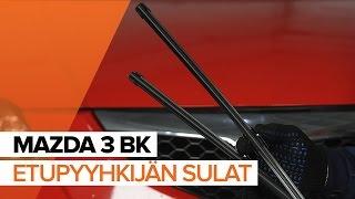 Mazda 3 bk huolto: ohjevideo