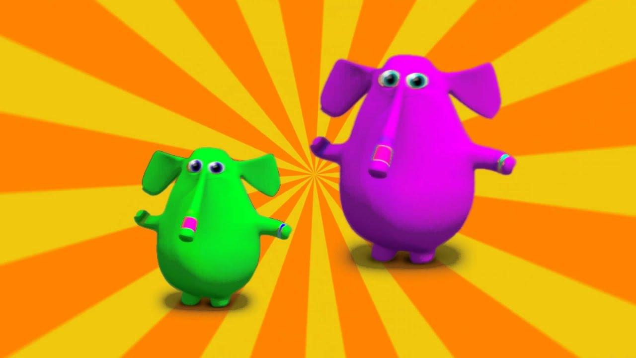 El Elefante Trompita  Canciones Infantiles  YouTube
