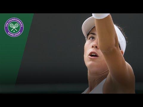 Garbiñe Muguruza v Sorana Cirstea highlights - Wimbledon 2017 third round