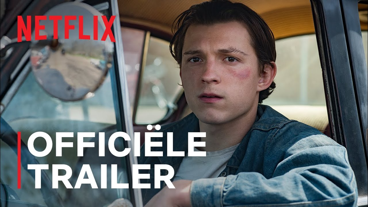 Tom Holland in The Devil all the Time trailer op Netflix België
