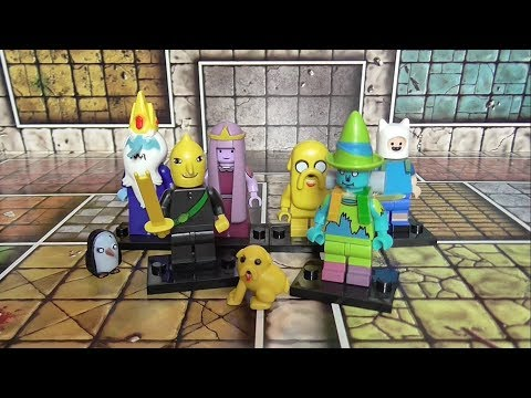 Adventure Time | Fake Lego Minifigures Review | Knock Off Toys