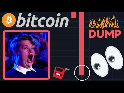 BITCOIN FALLING!!! | BIG NEWS: OIL PRICES DOWN 31% IN ONE DAY!! Financial Crisis!