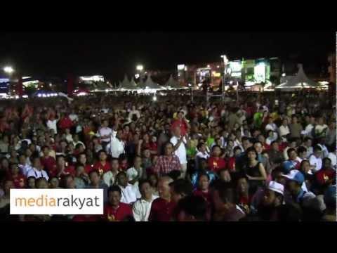 Anwar Ibrahim: Lim Kit Siang Calon Pakatan Rakyat Untuk Parlimen Gelang Patah