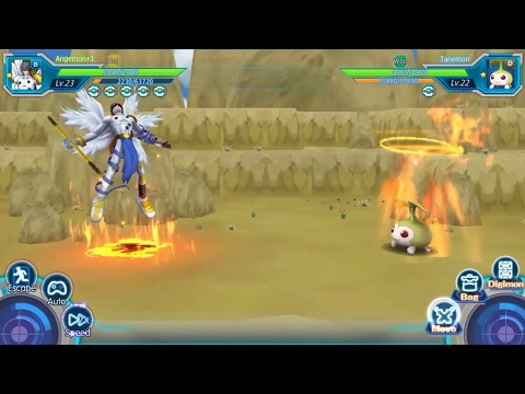 BERBURU ANGEMON - DIGI CHRONICLE / TAMER FRONTIER - INDONESIA ANDROID GAMEPLAY #4