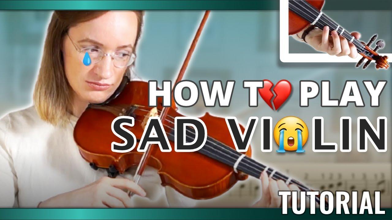 How to play Sad Violin (Sad Romance) | Intermediate Violin Song  | Violin Tutorial
