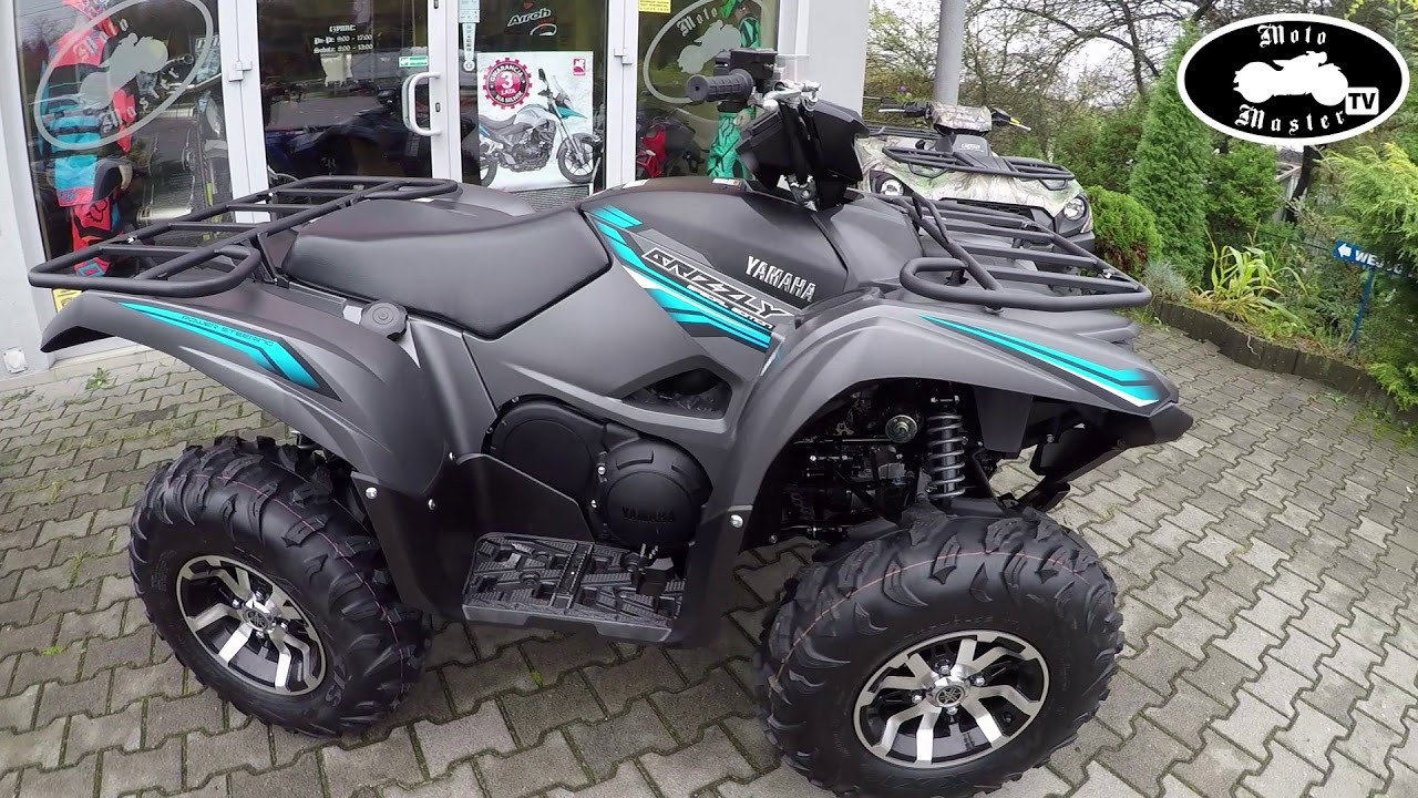 2017 Yamaha Grizzly >> Quad Yamaha Grizzly 700 EPS 2018 Special Edition Promo MotoMaster - YouTube