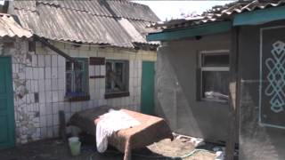 Девочка-сирота рассказала об обстреле Донецка и погибших родных
