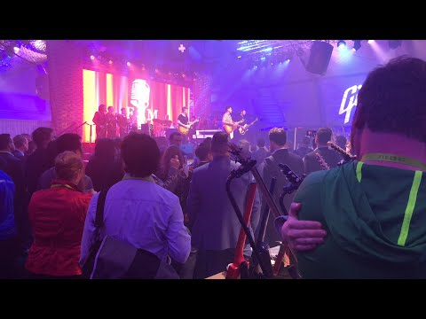 Franky Moreno Performing At Gibson Stage At CES 2018 #CES2018