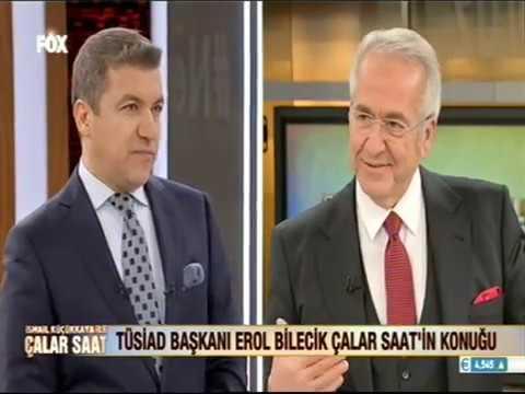 TÜSİAD Yönetim Kurulu Başkanı Erol Bilecik, İsmail Küçükkaya ile Çalar Saat Programı'na konuk oldu