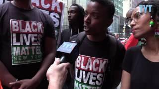 Jordan With Black Lives Matter After Philando Castile March