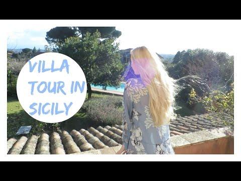 OUR VILLA TOUR IN SICILY! // Villa Rosa Antica