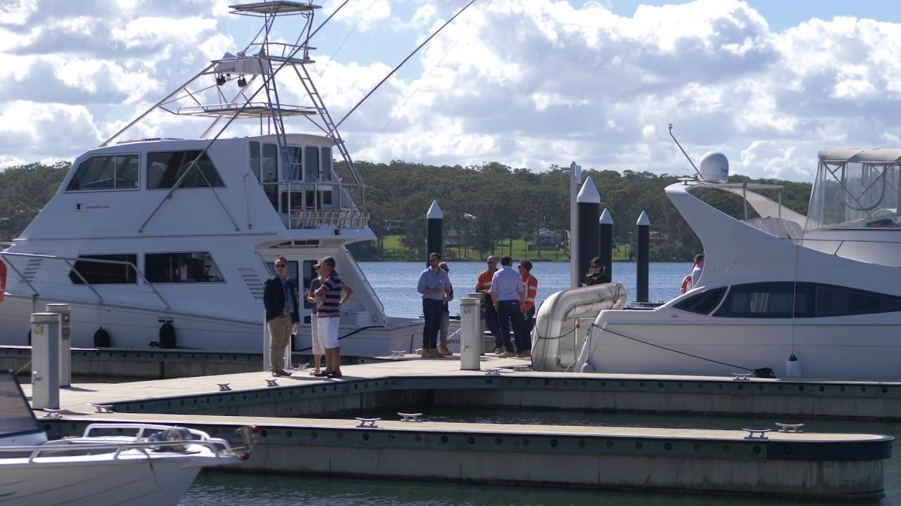 Trinity Point marina opens