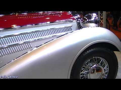 1939 Horch 855 Roadster - Paris 2014