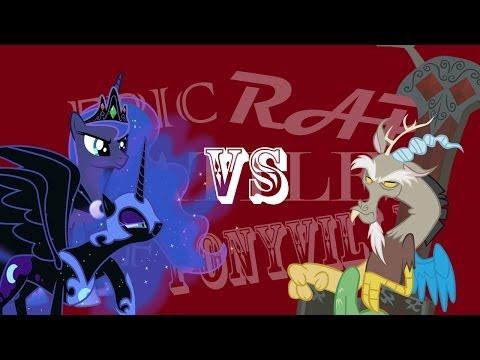 Epic Rap Battles of Ponyville: Discord VS Nightmare Luna [Battle Finale]