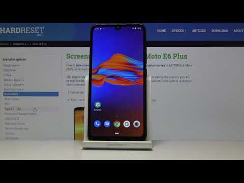 Как сделать скриншот на Motorola Moto E6 Plus. Захват экрана
