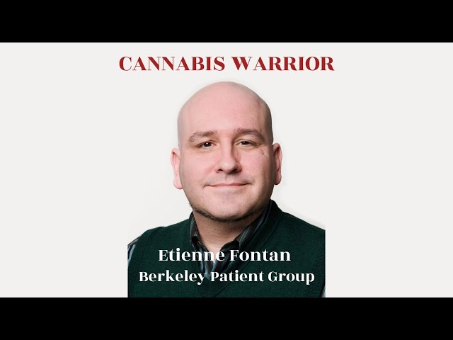 Cannabis Warrior Etienne Fontan Interview 05.10.20