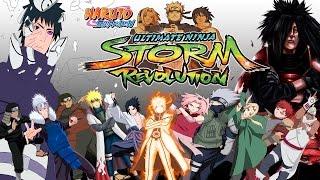 Naruto Shippuden Ultimate Ninja Storm Revolution - Todos os Personagens / All characters