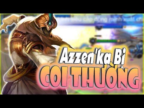[Liên Quân] Azzen'ka Chế Độ Siêu Khó Chịu - Hủy Diệt Team Bạn Bằng 1 Chiêu