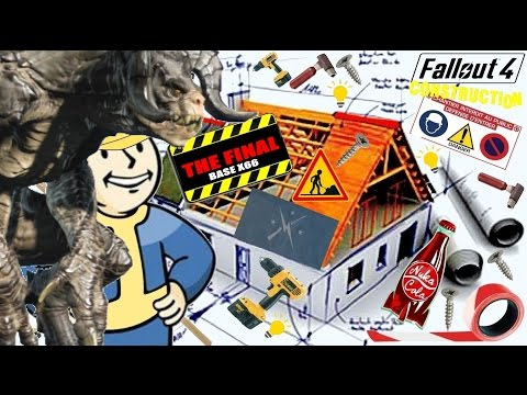 Fallout 4 - Constructions ★ The Final  Base X66 Deathclaw pro ! #10