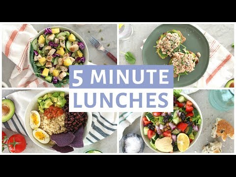 easy-5-minute-lunch-recipes-|-healthy-lunch-ideas