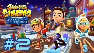 Subway Surfers 2017: Saint Petersburg - Samsung Galaxy S8+ Gameplay #2
