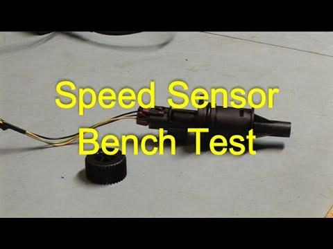 Nissan Micra K11 Speed Sensor Bench Test