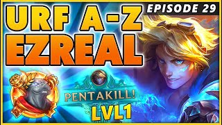 I FORGOT TO DO EZREAL!!! (PENTAKILL LEVEL ONE) - BunnyFuFuu | URF
