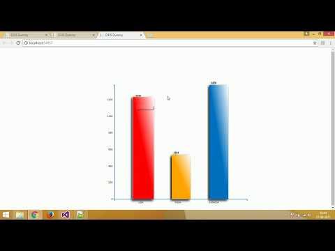 D3JS Interactive Bar Chart - Part 4 (3d Bar charts with D3.js)