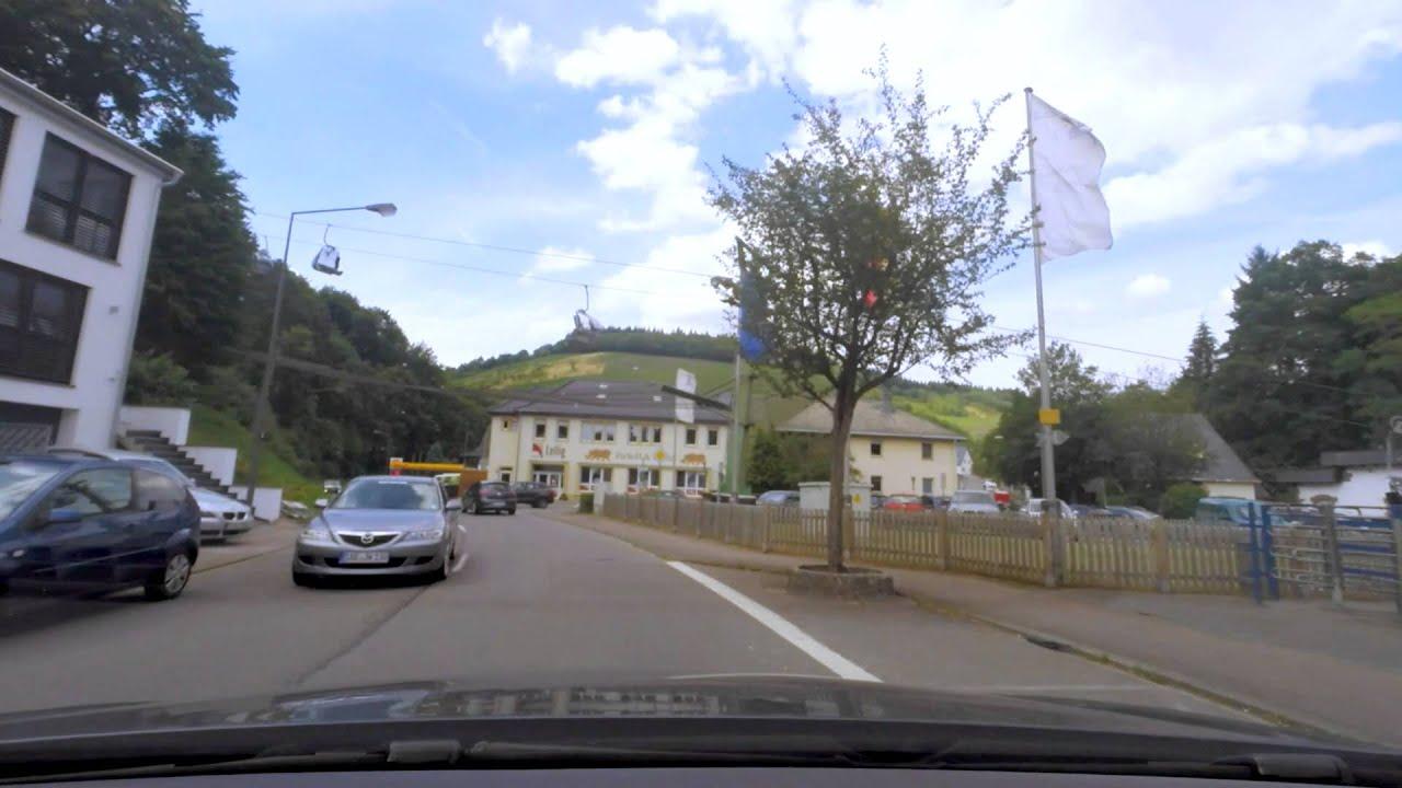 REWE via Saarburg naar Warsburg - YouTube