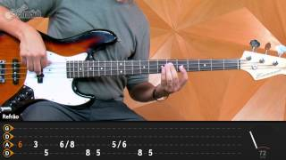 Like a Stone - Audioslave (aula de baixo)