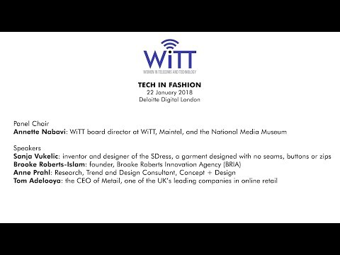 WiTT - Tech in Fashion