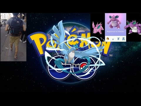 VLOG #1 - Pokémon GO - Partie 2/4 - Jardin du Luxembourg (Évolution Nidorino en Nidoking)
