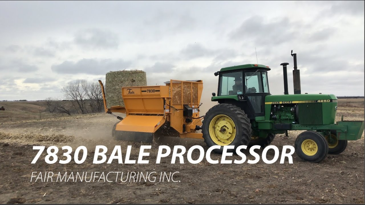 Bale Processors - Fair Manufacturing