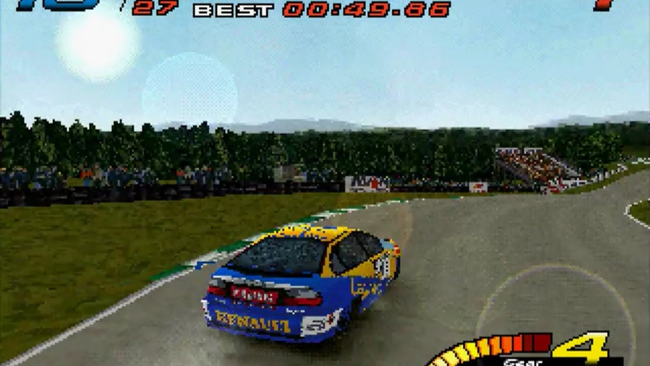 TASVideos submissions: #5429: Mothrayas's PSX TOCA Touring