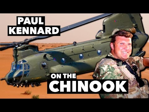 Interview with Paul Kennard on the Chinook