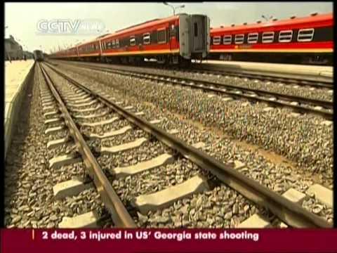 Chinese company restores Benguela railway