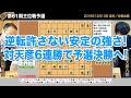 第61期王位戦予選 ▲佐藤天彦九段 − △渡辺明三冠【将棋棋譜】