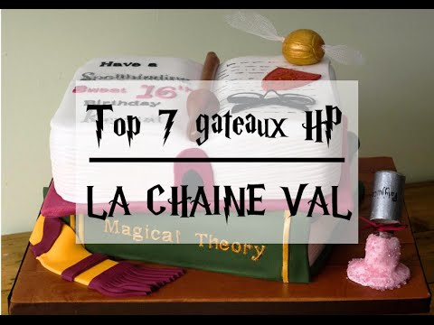 top 7 des plus beaux gâteaux harry potter. - youtube