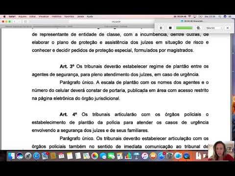 Resolução 104 CNJ - Segurança e Transporte