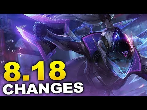 New changes coming soon in Patch 8.18 and Preseason! (League of Legends) thumbnail