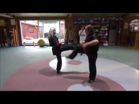GM Walter Toch using GERK of Wing Chun live
