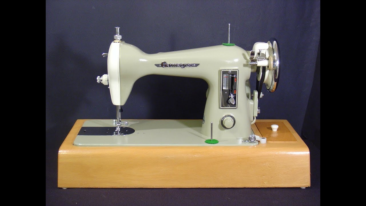 Gamages Sewing Machine YouTube New Gamages Sewing Machine