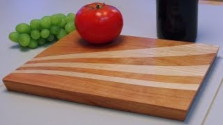 Making A Cnc Inlay Wave Cutting Board: Andrew Pitts ~ Furnituremaker