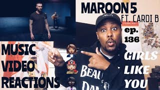 Baixar EPISODE 136: Maroon 5 ft. Cardi B - Girls Like You MUSIC VIDEO REACTION