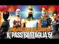 MIO FRATELLO MI SHOPPA IL PASS BATTAGLIA 5! CHE FIGATA QUESTA STAGIONE! Fortnite By FortuTheGamer