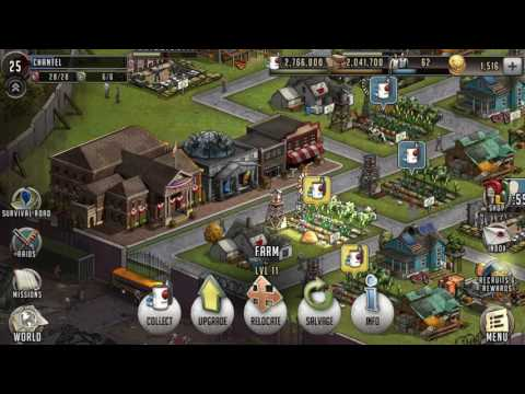 TWD Road to Survival *BUILD YOUR TOWN HELP* Hawk