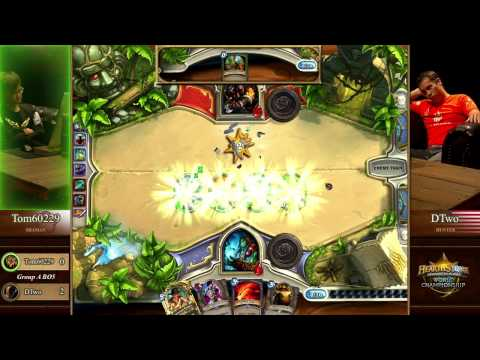 DTwo vs. Tom60229 - Group A - Match 1 - Hearthstone World Championship 2014