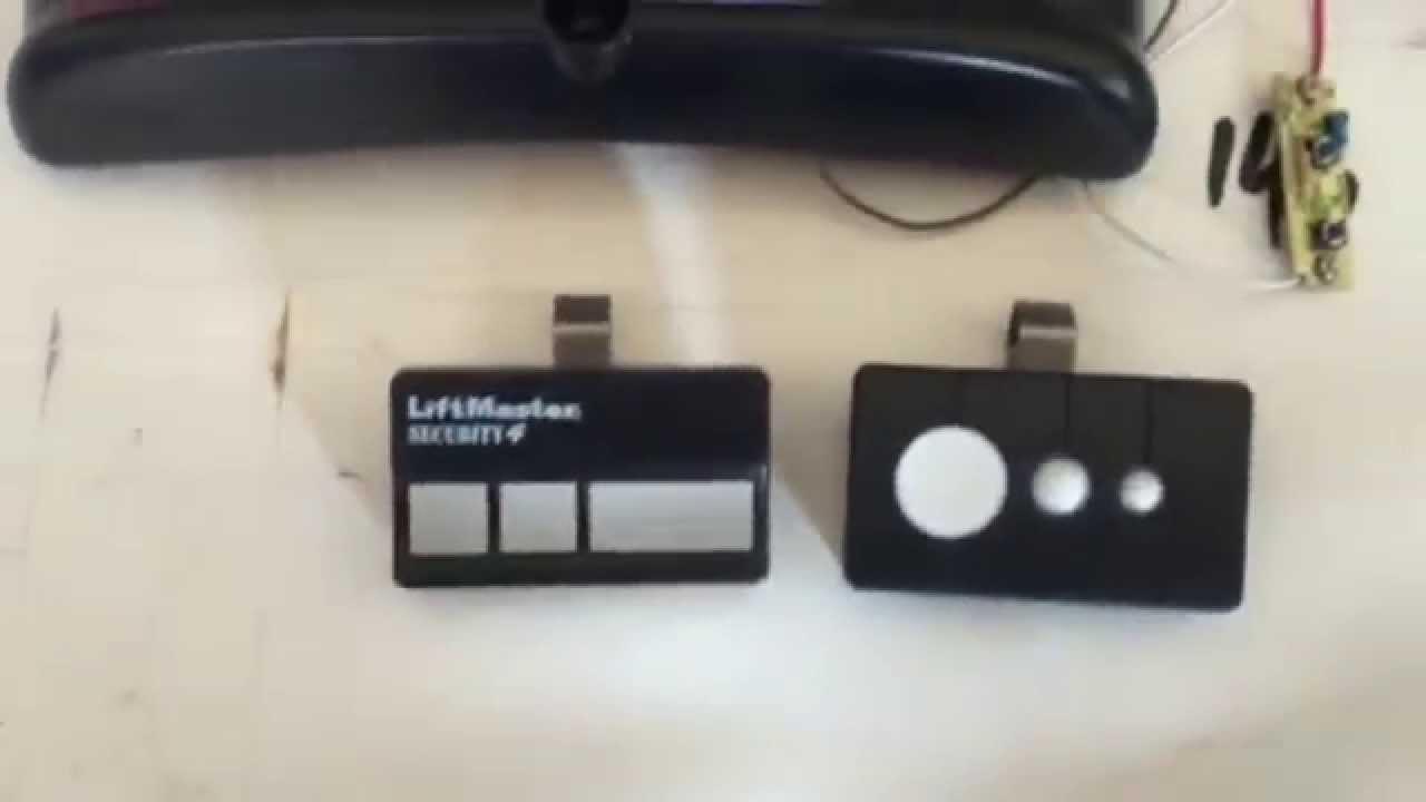 Garage Door Remote Compatible With Liftmaster Craftsman