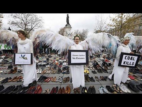 يورو نيوز: حوالي 1000 ناشط بيئي في باريس جاؤوا مشيا على الأقدام من القطب الشمالي