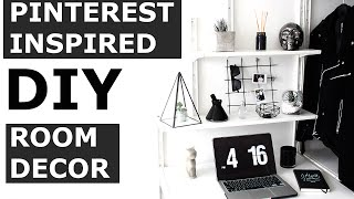 Diy Pinterest Room Decor | Minimal, Affordable, Quick, Easy | Gallucks